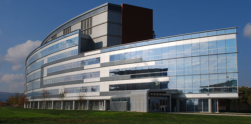 Exterior image of NBACC building.